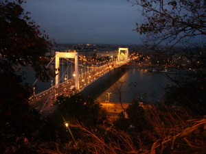 Венгрия Будапешт Мост Эржебет