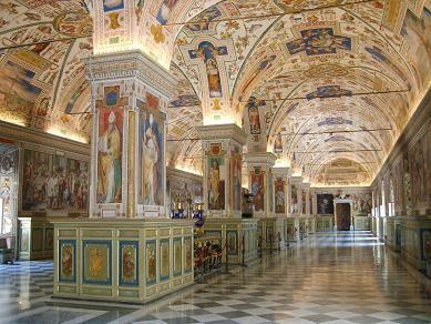 Италия-Ватикан-Пио-Клементино