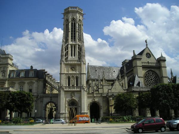 Париж Церковь Сен-Жермен-л'Оксерруа